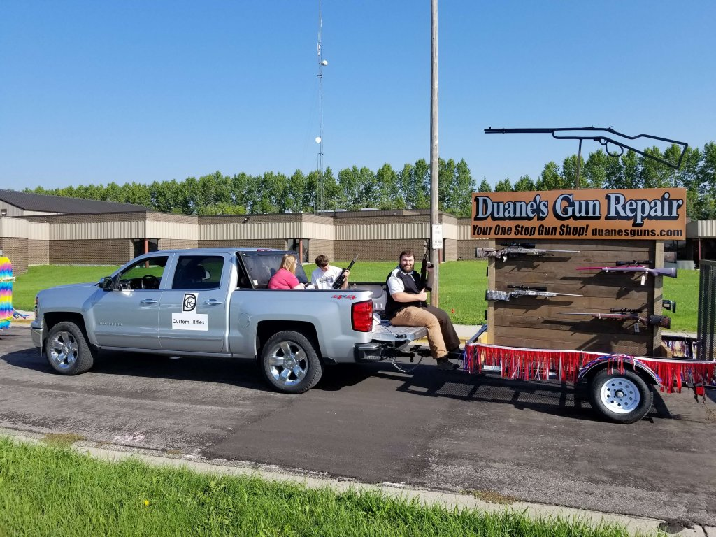 Our Float in the 2017 Horace Bean Days Parade